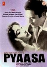 Rent Pyaasa on DVD
