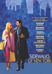 Rent Sidewalks of New York on DVD