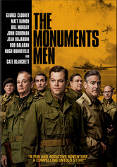 Rent The Monuments Men on DVD
