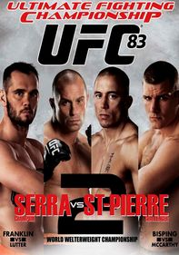 UFC 83: Serra vs. St-Pierre