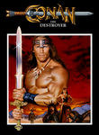 Conan the Destroyer (1984) Box Art