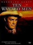 Ten Wanted Men (1955) Box Art