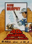 40 Guns to Apache Pass (1966) Box Art